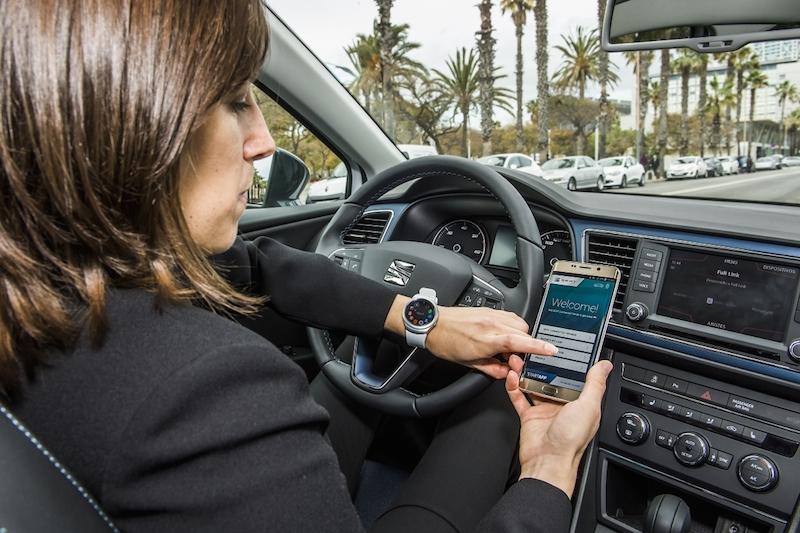 SEAT SAMSUNG SAP Connected Car 4 Zukunftsorientierte Projekte rund um das Connected Car