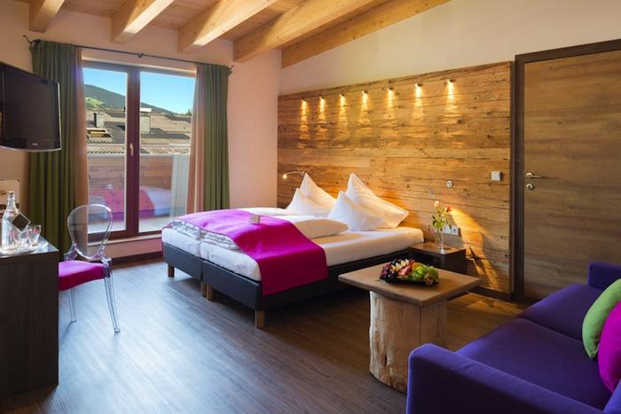 saalbach hotel zimmer1 Ein Wintererlebnis im Hotel Die Sonne in Saalbach