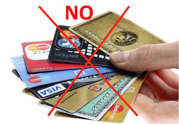 114 Keine Kreditkarte über 85?