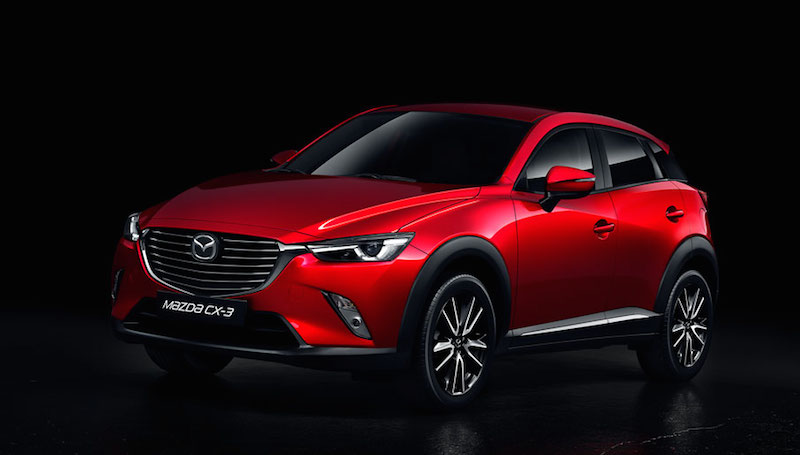 Design Galley LHD 02 Mazda CX 3 SUV im Test