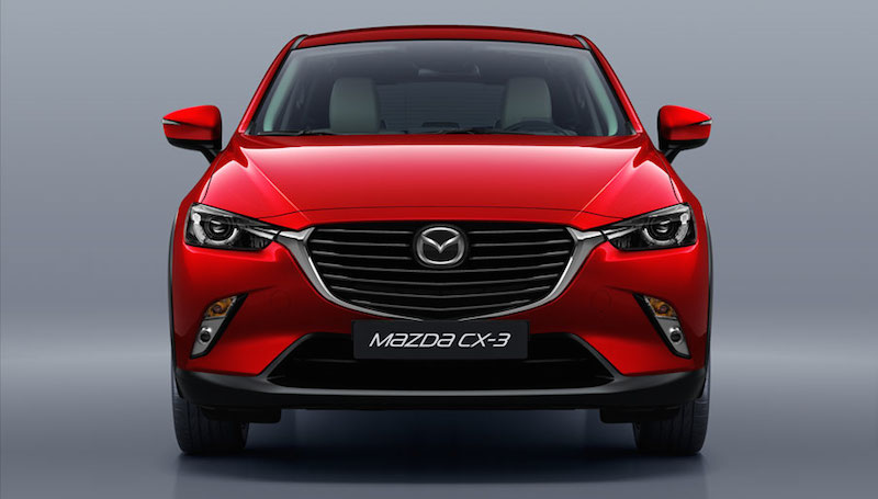 Design Galley LHD 03 Mazda CX 3 SUV im Test