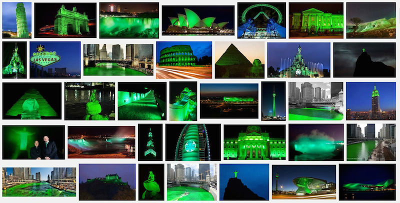 Greening international St. Patrick´s Day, 2016