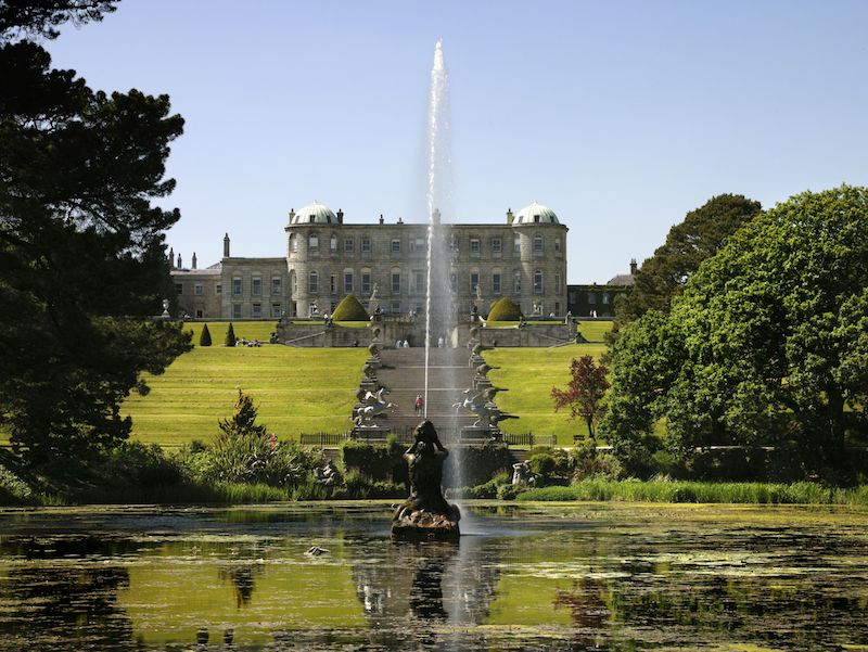 "IAE.Powerscourt gardens IRELAND´s ANCIENT  EAST – ""neue"" alte Destination"