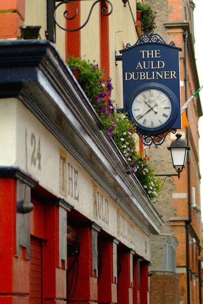 pub dublin St. Patrick´s Day, 2016