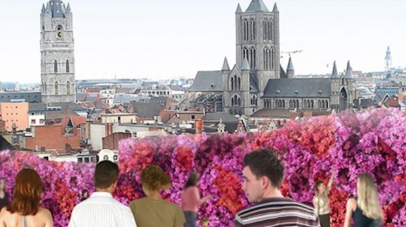 21 Gent   die Stadt für Blumenliebhaber
