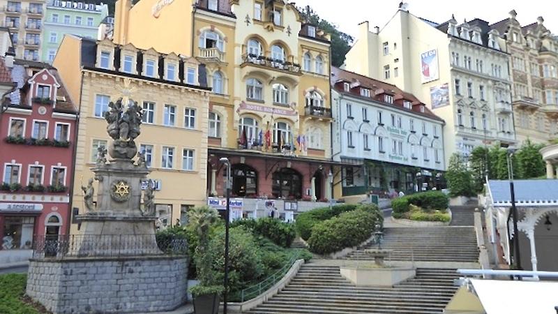 Die Heilquellen von Karlsbad