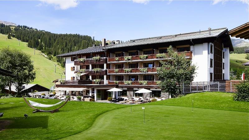 berghof Sommerurlaub in Lech