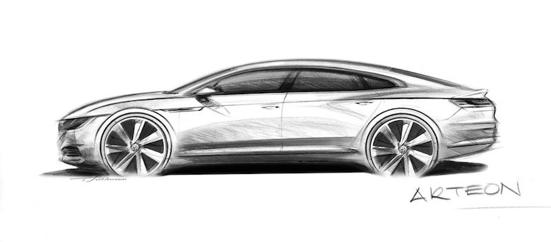 01 Arteon VW setzt neue Designakzente