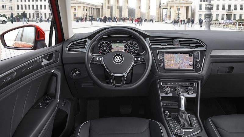 DB2016AU002551 Der VW Tiguan schärft sein Profil