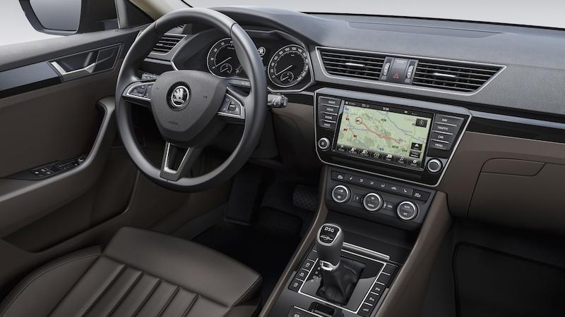 superb 2015 interior A Skodas Superb 4x4 Kombi