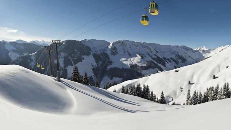 Landschaft1 Das lässige Skigebiet in den Kitzbüheler Alpen