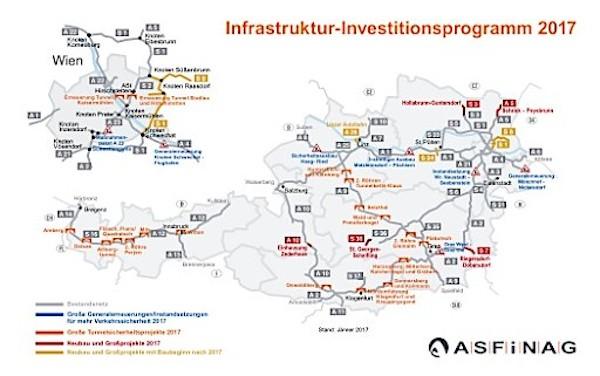 PDF 20170206 OTS0087 0.layout 2017 wird mehr als eine Milliarde Euro in Autobahnen und Schnellstraßen investiert