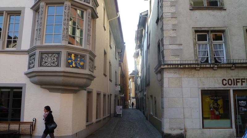 P1060448 Schaffhausen eine Altstadt zum Verlieben