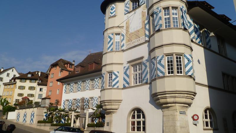 P1060454 Schaffhausen eine Altstadt zum Verlieben