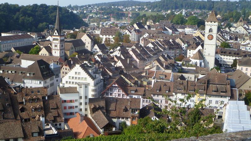 P1060478 Schaffhausen eine Altstadt zum Verlieben