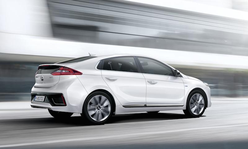 hw113583 Hyundai IONIQ Hybrid im Test