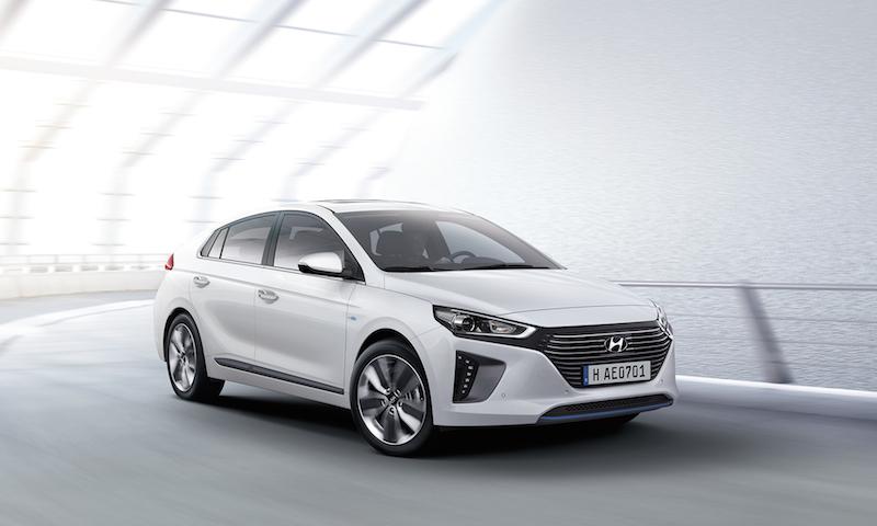 hw113586 Hyundai IONIQ Hybrid im Test