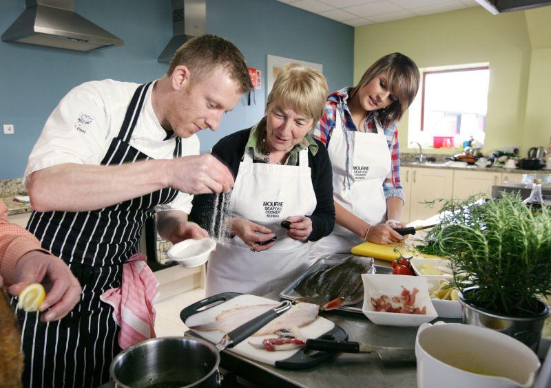 KochenInIrland3 Irischer Küchentrip: Kochen bis aufs Messer