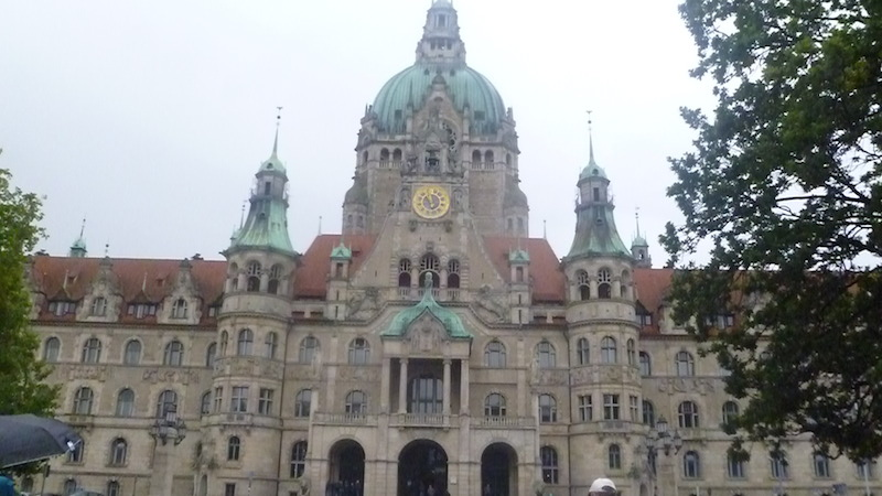 P1060666 Hannover und das Schloss Herrenhausen