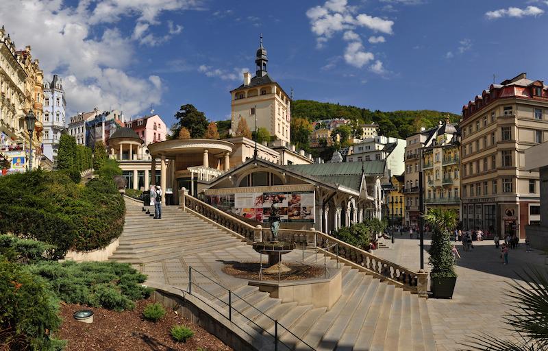 Karlovy Vary autor Ladislav Renner Tschechien – das Land der Kurbäder