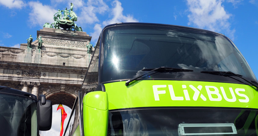 """flixbus fuehrt interrail fuer busreisen ein Flixbus führt """"Interrail"""" für Busreisen ein"""