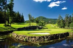 Golfspielen in Nordmähren/Tschechien