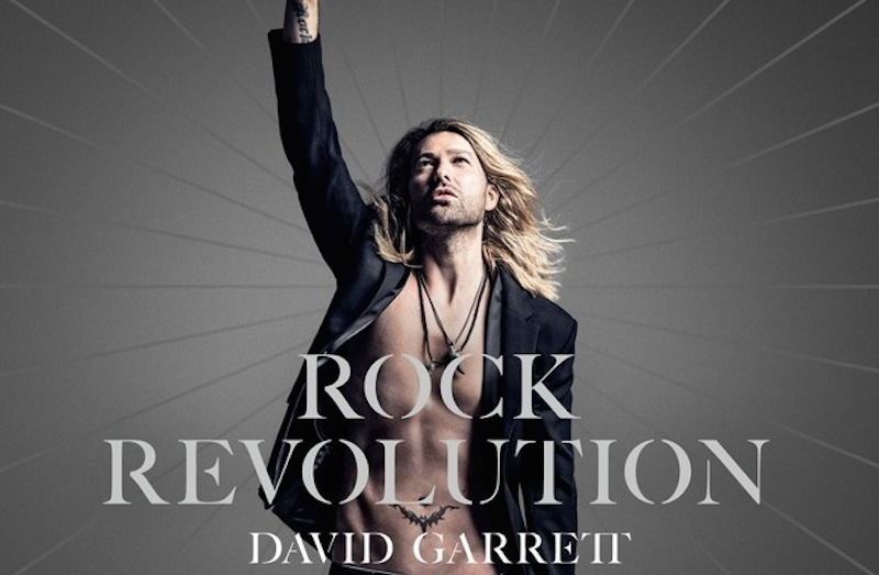 David Garrett neues Album ROCK REVOLUTION