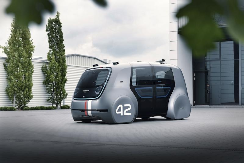 01 Sedric Volkswagen Konzern stellt SEDRIC Konzepts auf der IAA 2017 vor