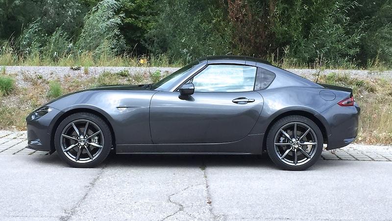IMG 3044 Wir testen derzeit den neuen Mazda MX 5 RF. Demnächst lesen Sie den Fahrbericht.