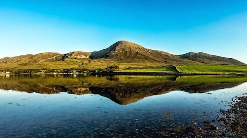 Tourism Ireland Croagh Patrick Landscape Auf Pilgerschaft: Irlands eigener Jakobsweg
