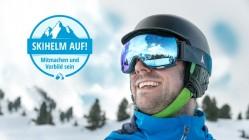 Skihelm auf! Sensibilisierung fürs Helmtragen beim Skifahren
