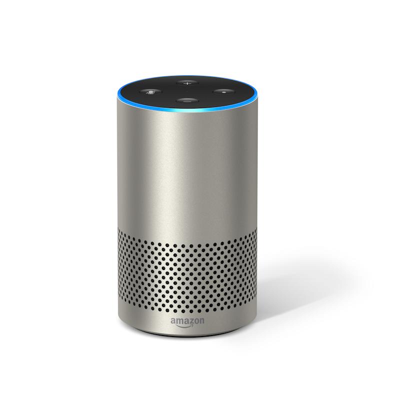 Silver Echo HERO IMAGE Die neue Echo Generation: Amazon Echo und Echo Plus