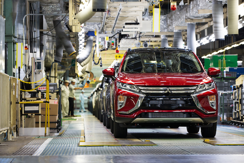 Eclipse Cross First shipment to Europe Österreichstart ECLIPSE  CROSS