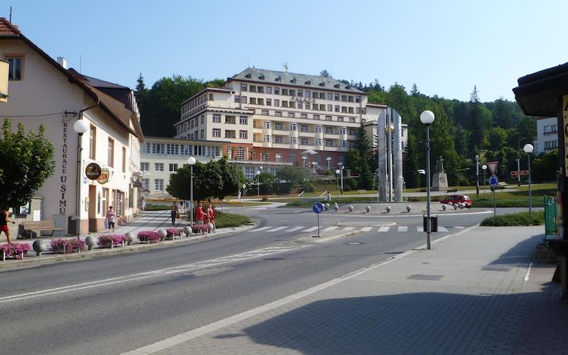 P1050413 Das  Heilbad Luhačovice in Tschechien
