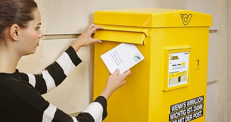 post briefe Briefe künftig schnell, mittel und langsam