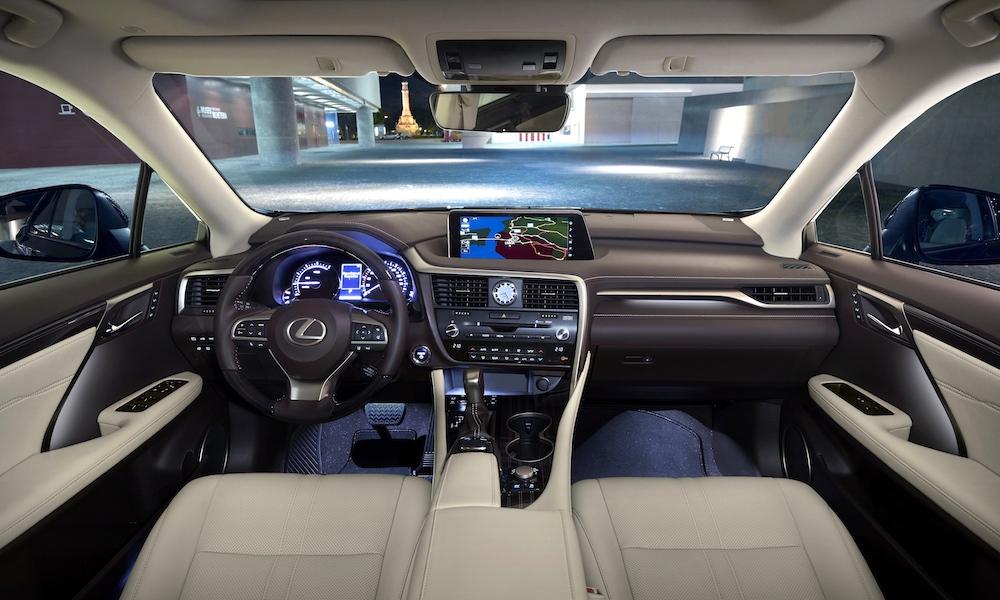 Der Lexus RX 450 h Foto:©Lexus