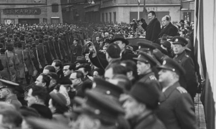 Foto:©RadioCZ Kommunistische Machtübernehme