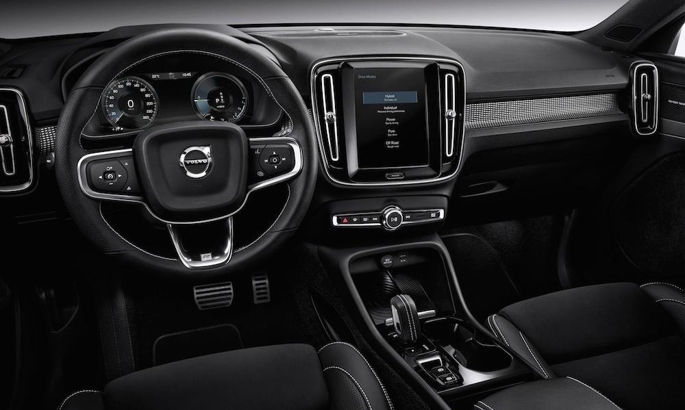 New Volvo XC40 innen