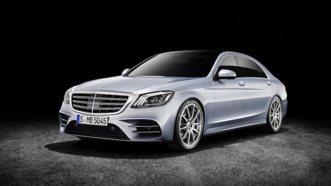 Mercedes-Benz S-Klasse; (V222), 2017Mercedes-Benz S-Class; (V222); 2017