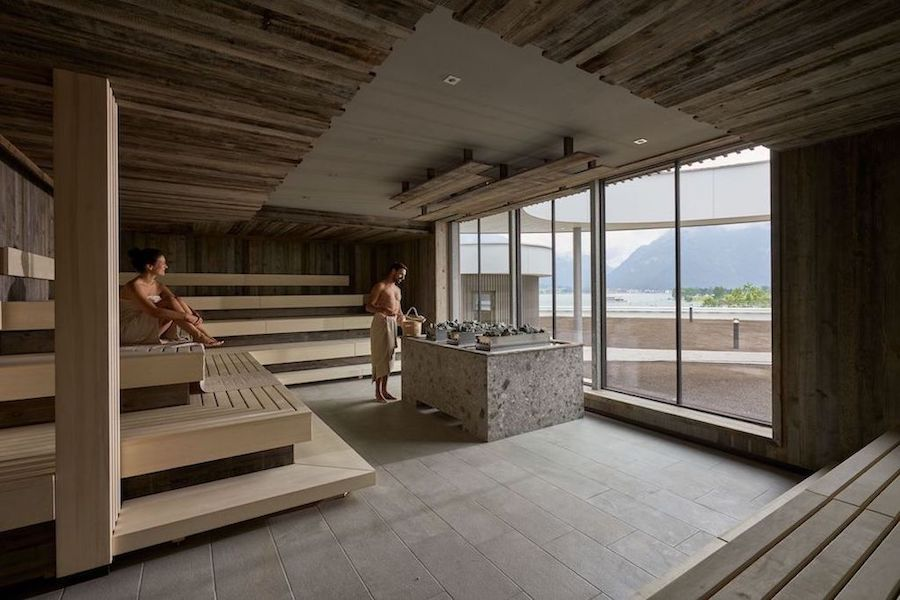 Penthouse-Sauna im Atoll© Achensee.com