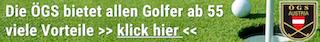 Senioren Golf Banner
