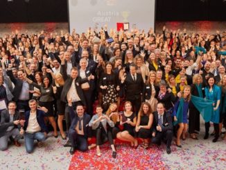 Alle Gewinner des Abends – Österreichs beste Arbeitgeber 2019 © Great Place To Work