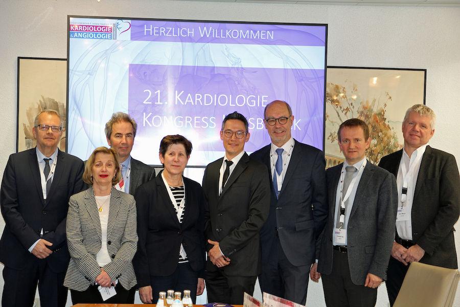 V.l.n.r.: Friedrich, Podzeck-Schweighofer, Weiß, Lechleitner, Brenner, Trenk, Säly, Mayer. ©CMI