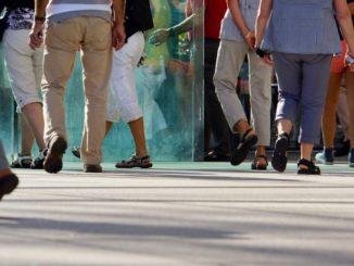 Touristenandrang. Foto: Rainer-Sturm_pixelio.de
