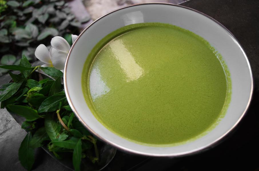 Kola Kenda, grüne ayurvedische Suppe
