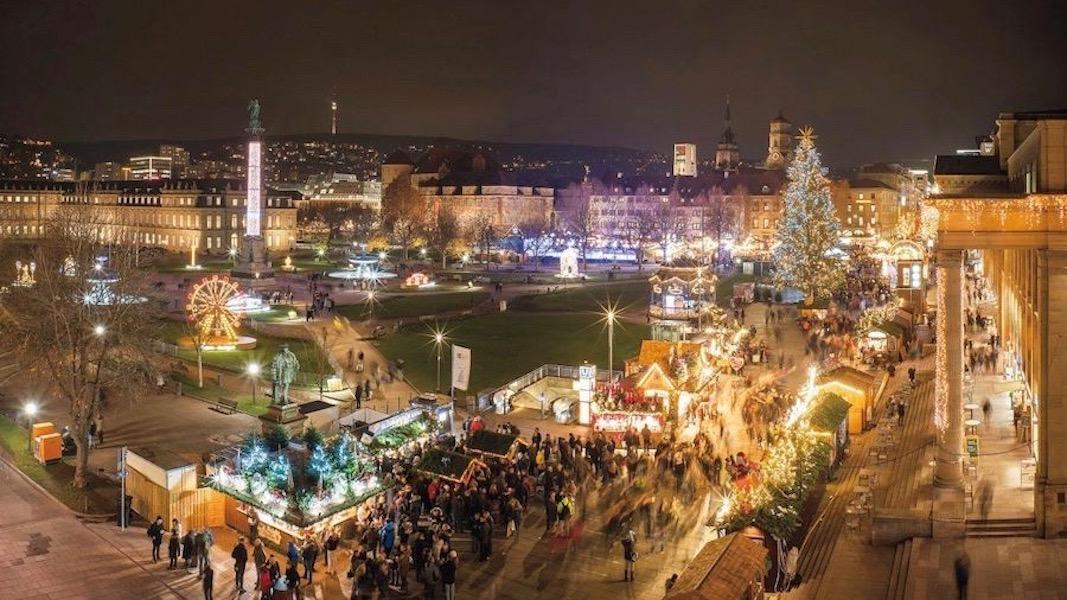 Stuttgart: Weihnachtsmarkt am Schlossplatz ©Stuttgart-Marketing GmbH/Frank Hörner