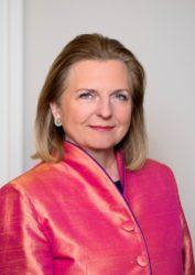 Ehemalige Außenministerin von Österreich, Karin Kneissl. Foto: Felicitas Matern