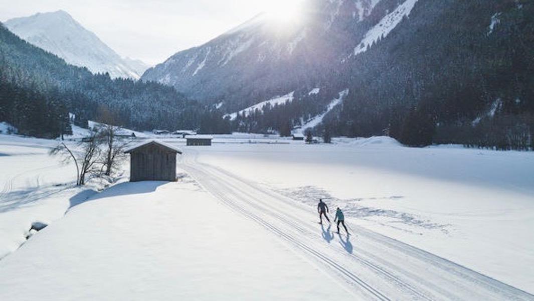 Im Natur Aktiv Park Klaus Äuele im hinteren Stubaital eröffnet sich ein wahres Winter-Wonderland. ©TVB Stubai Tirol/Andre Schönherr